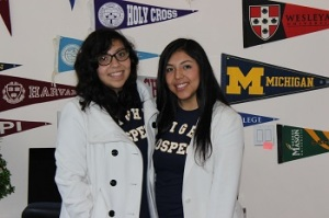 Sisters Itzel and Bertha Romero have both found success through Bright Prospect thanks to your support.